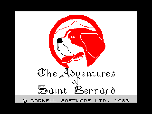 The Adventures of St. Bernard screen