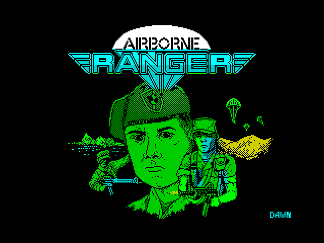 Airborne Ranger image, screenshot or loading screen