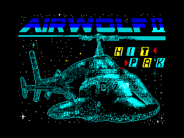 Airwolf II screen