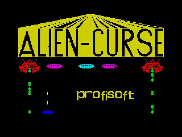 Alien Curse screen