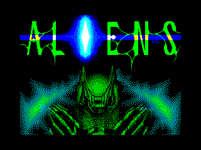 Aliens screenshot