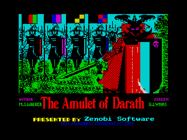 The Amulet of Darath screenshot