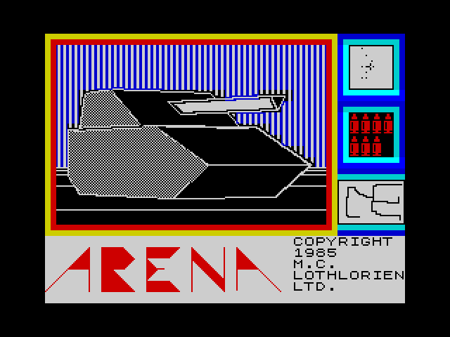 Arena screen