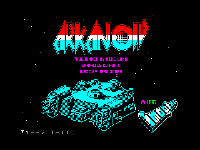 Arkanoid image, screenshot or loading screen