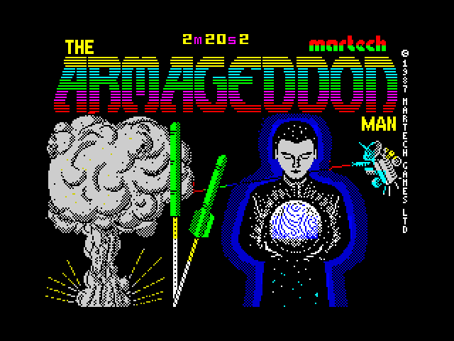 The Armageddon Man screen