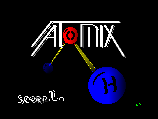 Atomix screen