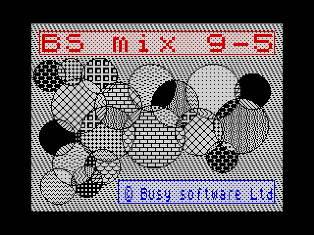 BS Mix screen