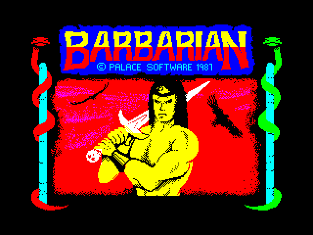Barbarian: The Ultimate Warrior screen