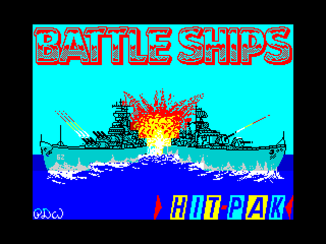 Battle Ships screen