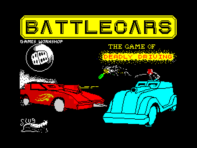 Battlecars screen