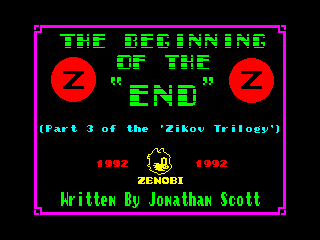Beginning of the End image, screenshot or loading screen