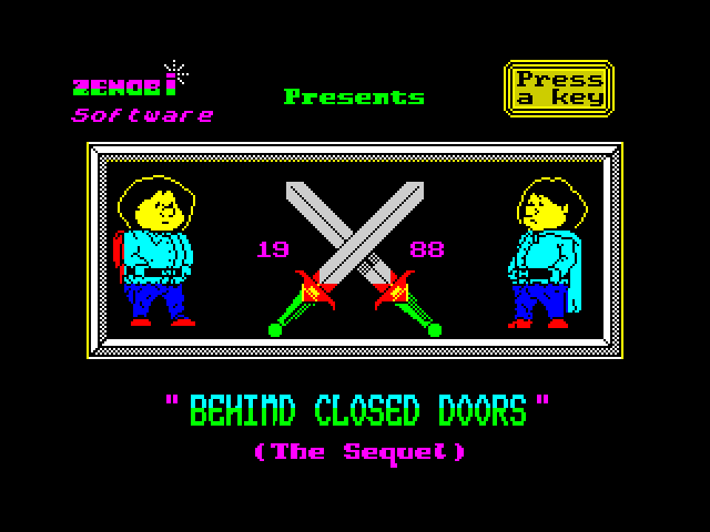 Behind Closed Doors 2: The Sequel screen