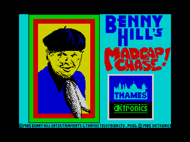 Benny Hill's Madcap Chase! image, screenshot or loading screen