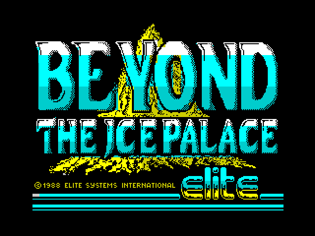 Beyond the Ice Palace screen