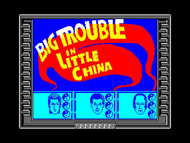Big Trouble in Little China image, screenshot or loading screen