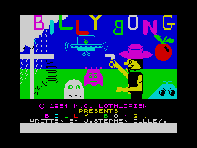 Billy Bong screenshot