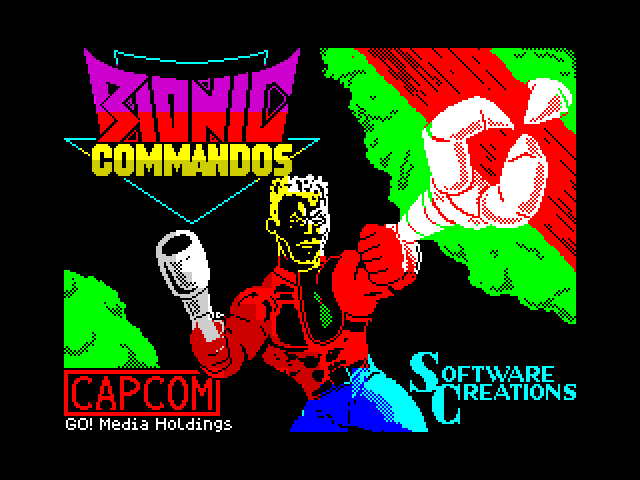 Bionic Commando screen