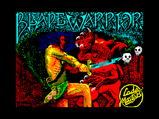 Blade Warrior screen