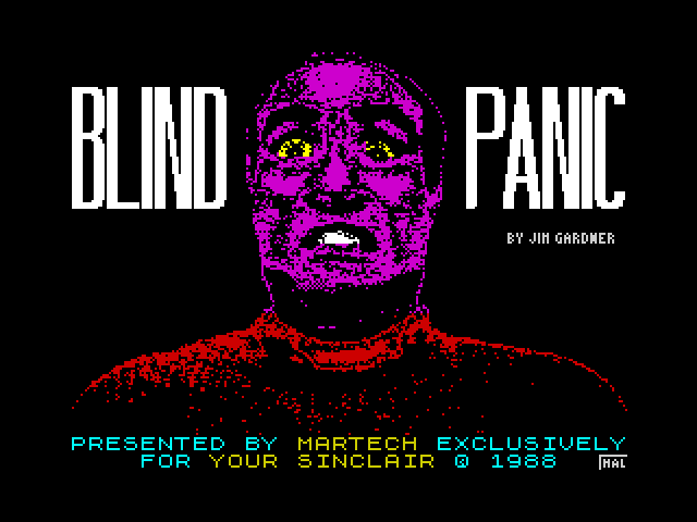Blind Panic screen