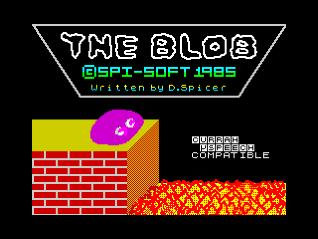 The Blob screen