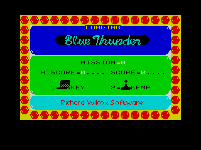 Blue Thunder screenshot