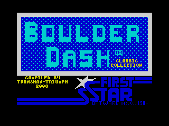 Boulder Dash Classic Collection image, screenshot or loading screen