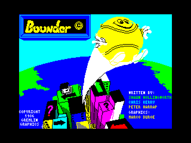 Bounder screen
