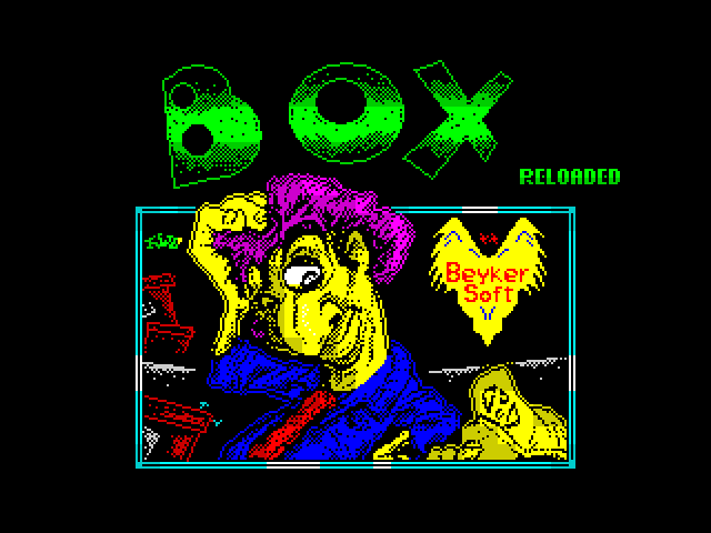 Box Reloaded screen