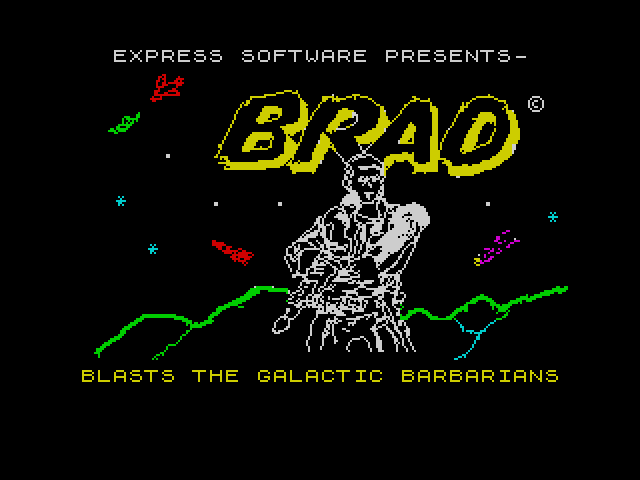Brad Blasts the Galactic Barbarians image, screenshot or loading screen
