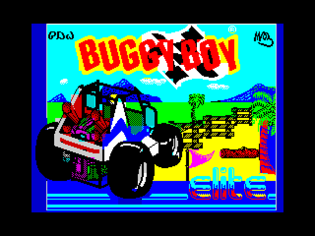Buggy Boy screen