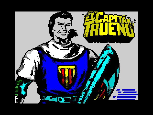 Capitan Trueno screen