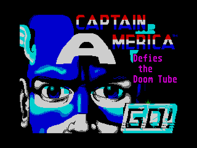 Captain America in the Doom Tube of Dr Megalomann screenshot