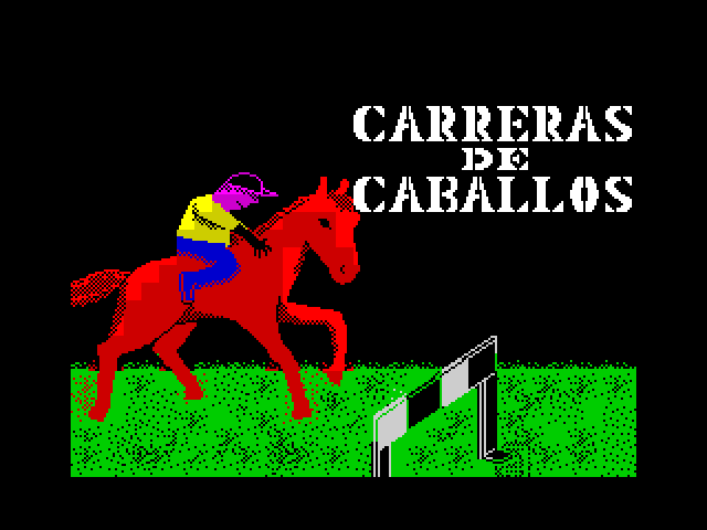 Carreras de Caballos screen