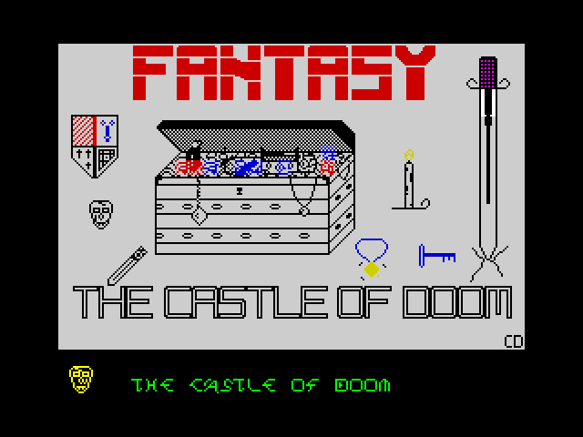 The Castle of Doom screen