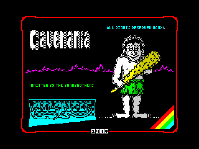Cavemania screen