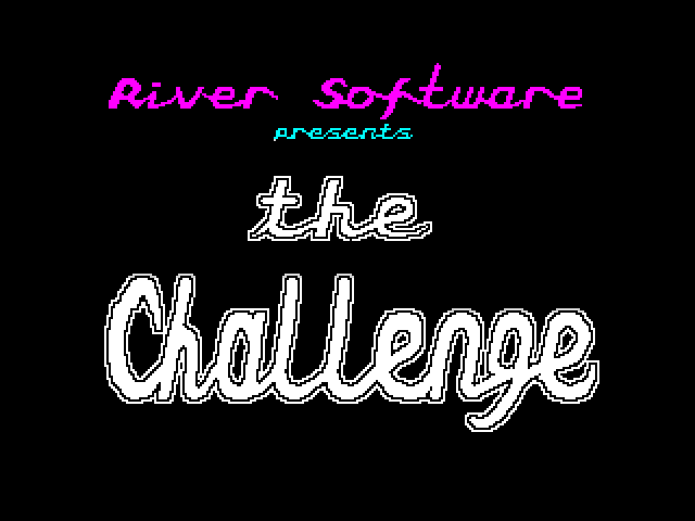 The Challenge screen