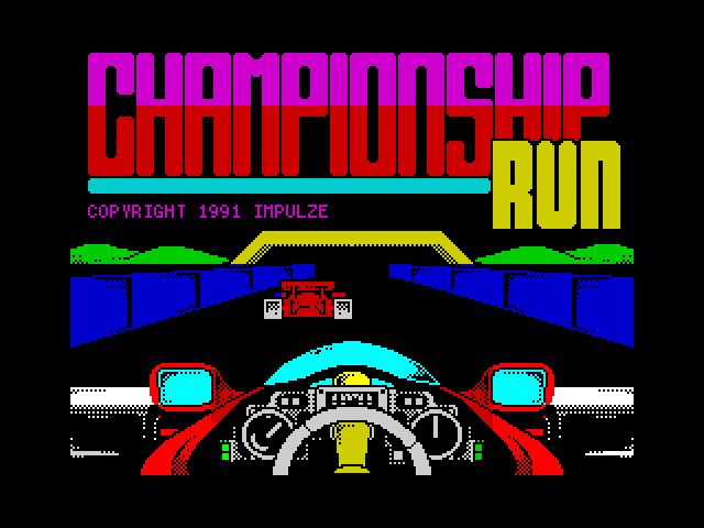 Championship Run screen