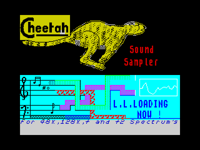 Cheetah Sound Sampler screen