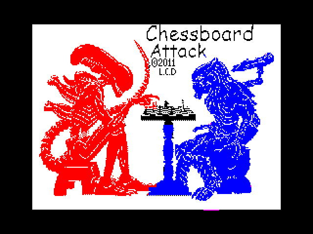 Chessboard Attack screen