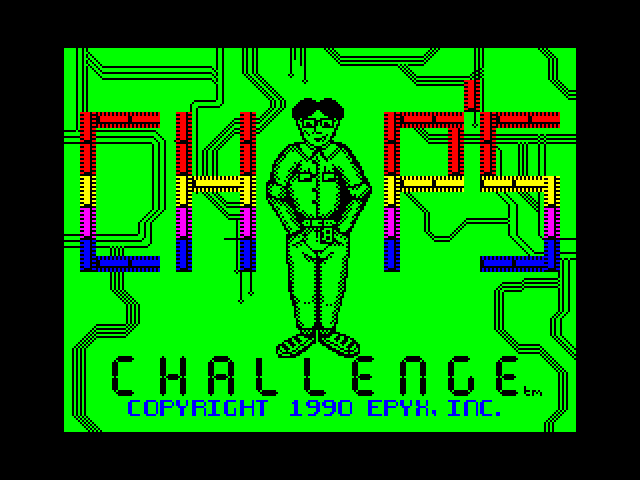 Chip's Challenge screen