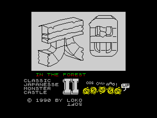 Classic Japanese Monster Castle 2 screen