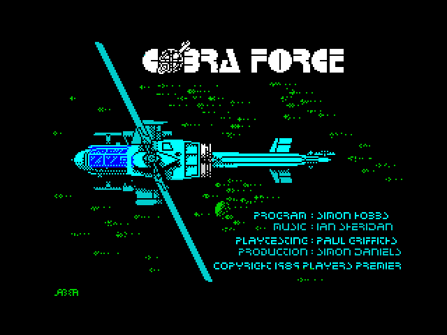 Cobra Force screen