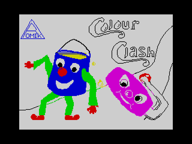 Colour Clash screen