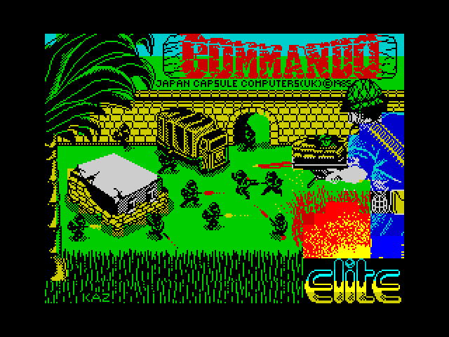 Commando screen