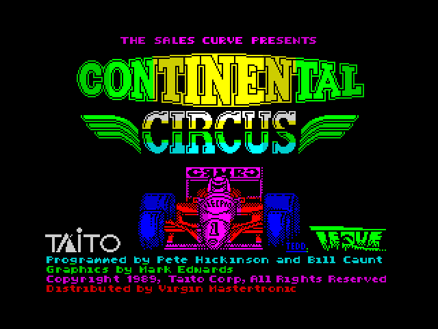 Continental Circus screen