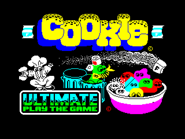 Cookie image, screenshot or loading screen