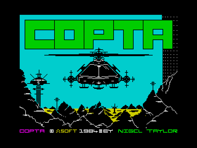 Copter screen