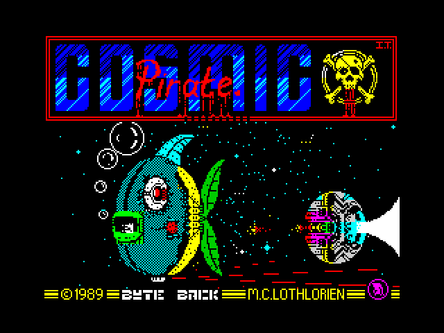 Cosmic Pirate screen