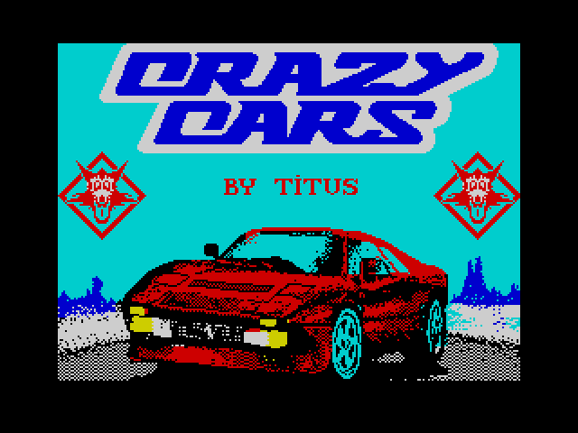 Crazy Cars screenshot