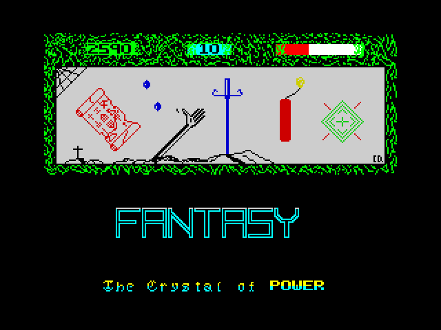 The Crystal of Power screen